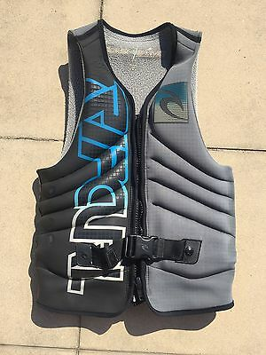 Rip Curl Flashbomb Wakeboard Water Ski Vest Buoyancy Men's Medium PFD 3