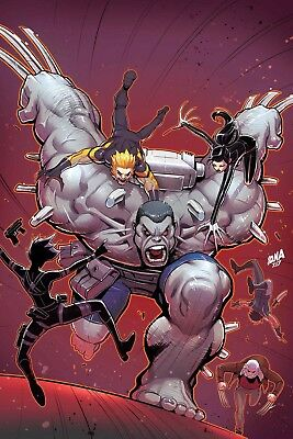"""Weapon X #11 Hunt For Weapon H Conclusion """"totally Awesome Hulk 22"""""""