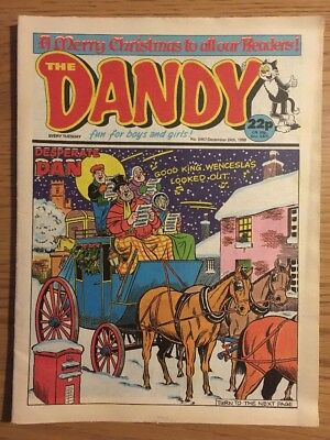 6 x Dandy Comics - 1988 - Issues 2451, 2453 to 2457 (includes Christmas issue)
