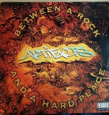 "Artifacts ‎– Between A Rock And A Hard Place 2x12"" LP"