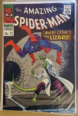 AMAZING SPIDER-MAN # 44 and #45 , (1st SERIES / 1967 ) PENCE COPIES FN+