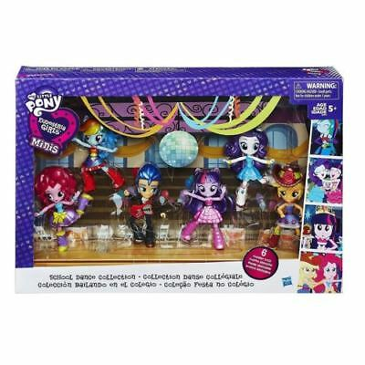 School Dance Collection 6 Pack Equestria Girls Minis Poseable Fashion Play Dolls