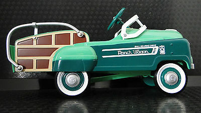 A Pedal Car Woody Ford Wagon 1930s Woodie Hot T Rod Vintage Classic Midget Model