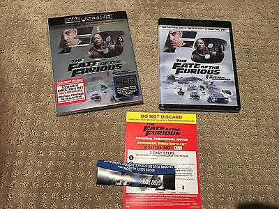 Fate Of The Furious Extended Edition F8 HD Digital Code ONLY