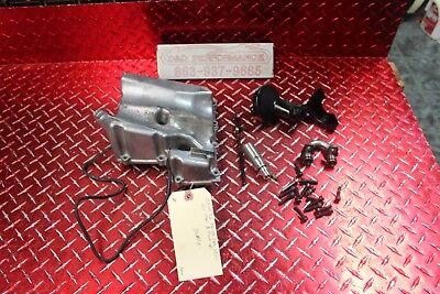 03 - 04 Yamaha R6  06 - 09 R6S Oem Oil Pan W Pick Up & Bolts No Leaks Sdm
