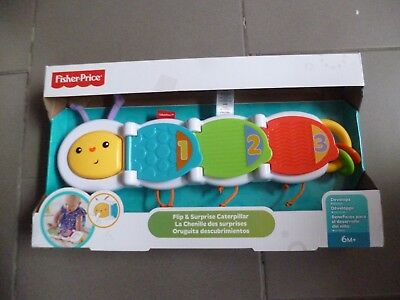 Fisher-Price La chenille des surprises