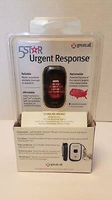 GreatCall 5Star Urgent Response Emergency Medical Alert Device Mobile NEW