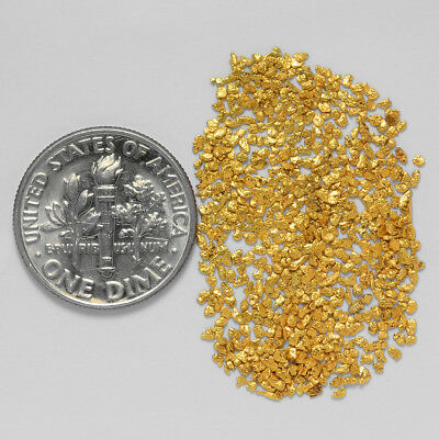 0.7632 Gram Alaskan Natural Gold Nuggets - (#20879) - Hand-Picked Quality