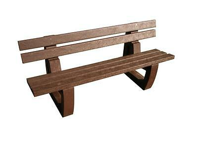 Bodmin Seat Outdoor Park Garden Country 1.8M 100% Recycled Plastic Heavy Duty