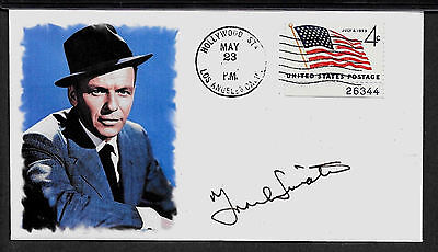 Frank Sinatra Rat Pack Limited Edition Collector's Envelope Repro Autograph A978