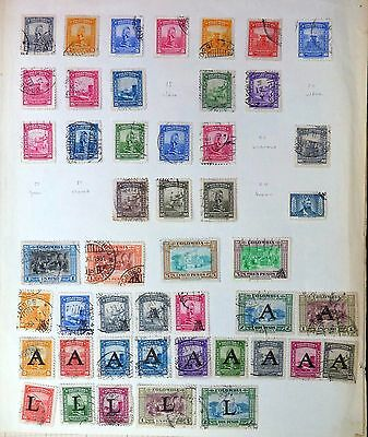 COLOMBIA Mint/Used on 5 Pages MIXED CONDITION XZ343
