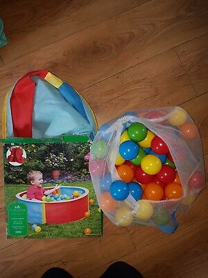 Soft Play Ballpit Ball Pit Playpen Quality With Balls Kids Toy