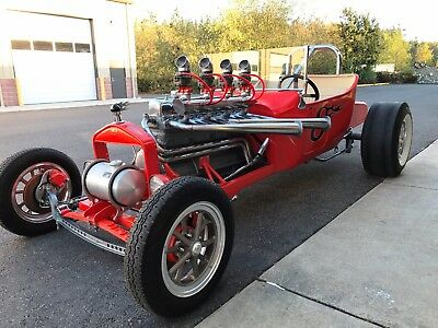 1923 Ford Model T Dragster 1923 Ford T Street Rod Drag Car Show Car Buick Straight 8 Bad Boy NO RESERVE