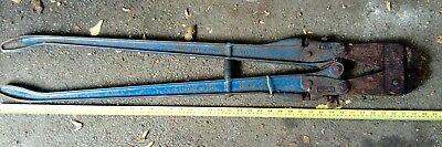 Record no.942 bolt croppers cutters Bargain low start. Needs restoration. Used.