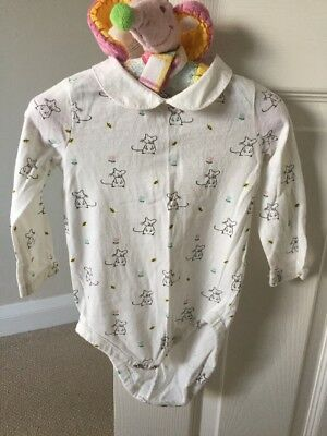 Baby Girls Collared Bodysuits John Lewis Age 6-9 Months