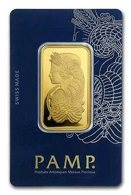 Lingotto PAMP (FORTUNA) VERISCAN 31.1 Gr. (1 oz)