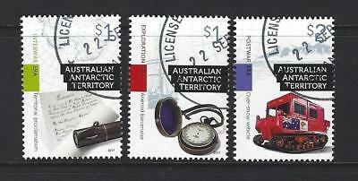 Australia 2017 Antarctic Territory  Exploration Era  Set 3 Fine Used