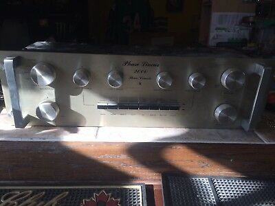 PHASE LINEAR 2000 VINTAGE PRE AMPLIFIER Pre Amp STEREO CONSOLE Very Nice