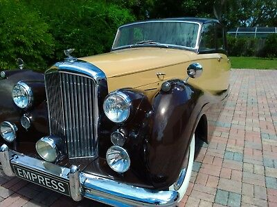 1955 Bentley Empress Freestone & Webb Coach built 1955 Bentley Empress by Freestone & Webb