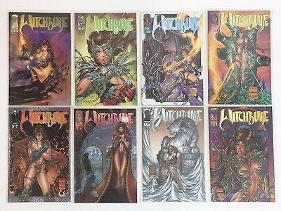 Witchblade Comic Lot 1995 series #1-17 includes #10A Darkness - 18 comics