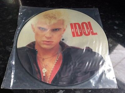 """Billy Idol 12"""" Picture Disc Single Eyes Without A Face"""