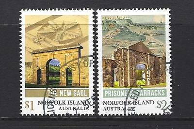 Australia 2017 Norfolk Island Convict Heritage Set Of 2 Fine Used