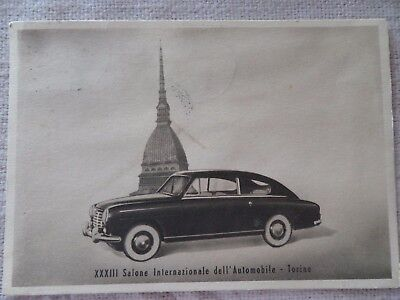 Cartolina--Commemorativa.-.xxxiii Salone Dell'auto.-.to--Timbri Del Salone
