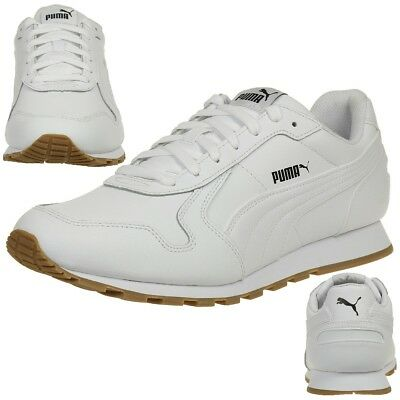 34ef449bc9db PUMA ST RUNNER Full L Trainers Shoes Mens Shoes White 359130 07 ...