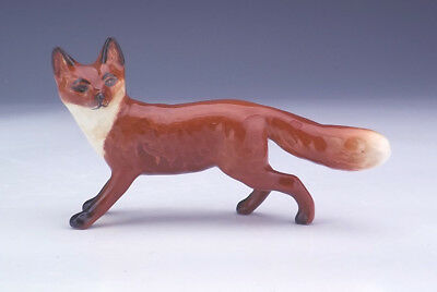 Beswick Pottery - Hand Painted Running Fox Figure - Lovely!