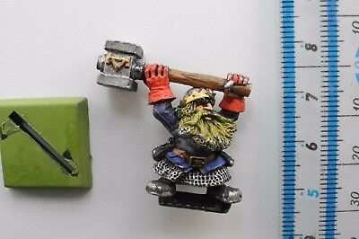 DWARF GENERAL Metal Grudge of Drong Dwarfs Army Army Painted Warhammer 1990s 12