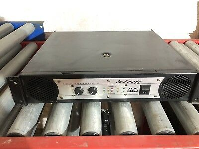 Studiomaster ax2500 professional PA power amplifier