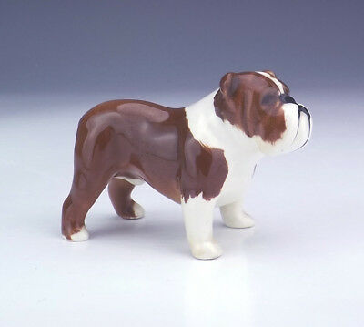 Beswick Pottery - Hand Painted British Bulldog Dog Figure - Nice!
