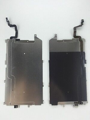 """Apple iPhone 6 4.7"""" LCD Metal Backplate Shield with Home Button Flex Cable"""