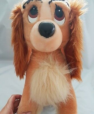 Disney Store lady and the tramp soft toy