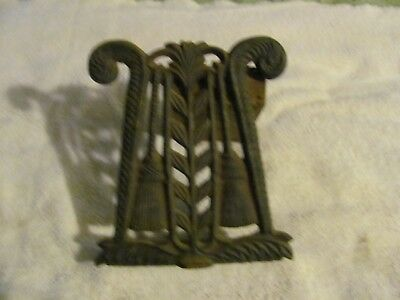 Antique Cast Iron Door Stop or Bookend ;