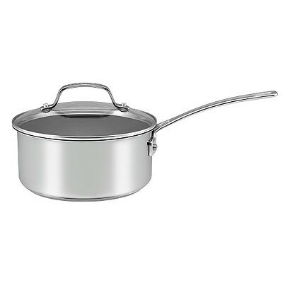 Circulon Genesis 20cm Saucepan Stainless Steel Induction Non-Stick 2.8L