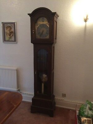 .........reduced  ..........antique  Longcase Grandmother Clock , Owned From New