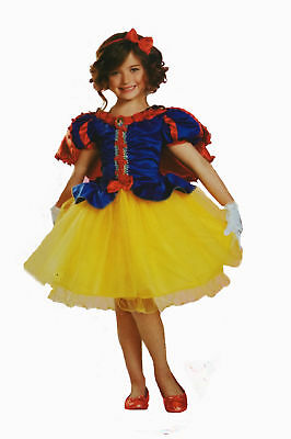 Disguise Disney's Princess Snow White Deluxe Child Costume