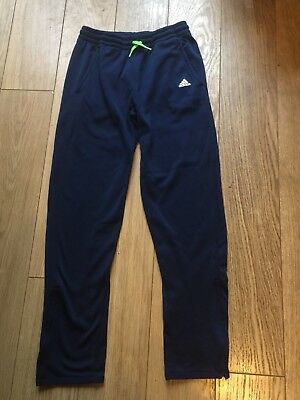 Boys Adidas Climawarm Training Tracksuit Bottoms/joggers - Age 13-14 Yrs