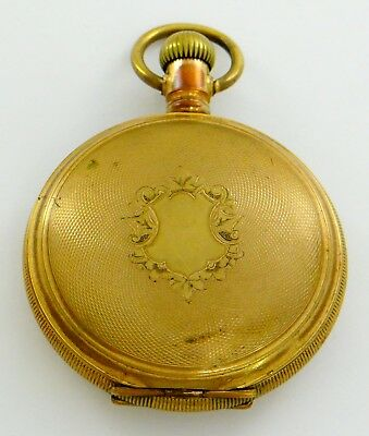 Hampden Golden Gate Special pocket watch, Reno, Nev private label dial - rf50988