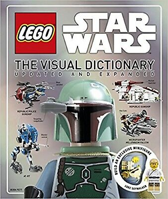 LEGO Star Wars Visual Dictionary by DK (Hardback) COMPLETE WITH BRICKS