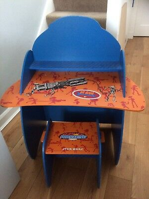Star Wars Kids Desk And Stool