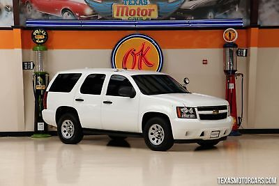 2009 Chevrolet Tahoe Special Service Vehicle 2009 White Special Service Vehicle!