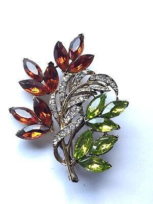 Vintage Estate Signed Weiss Sparkling Pin