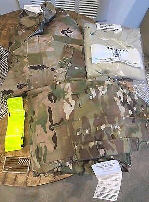 New Multicam OCP Top Shirt Small Reg, Trousers Pants Small Short, T-Shirts Med.