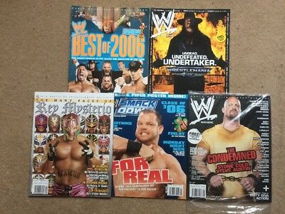 WWE magazine Bundle