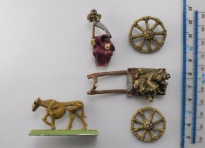 PLAGUE CART (damaged) Metal C22 Undead Army Painted Warhammer Citadel 1980s 49
