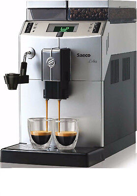 New Saeco Lirika Macchiato 10004477 Automatic Coffee Machine Silver 1850W Genuin