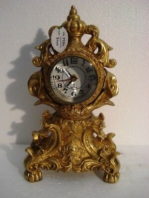LARGE - ANTIQUE Style Brass TOWER Clock - Heavy Weight - Best Collection (2954)