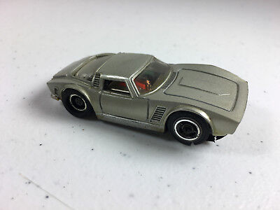 Vintage Tyco Pro ISO GRIFO SLOT CAR HO Scale Silver/Gray